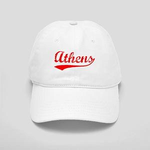 Vintage Athens (Red) Cap