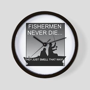 Fishing! Wall Clock