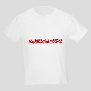 Newsgroups Heart Design T-Shirt