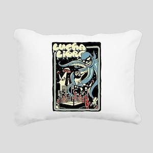 LUCHA OUTBREAK Rectangular Canvas Pillow