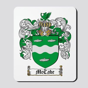 McCabe Family Crest Mousepad