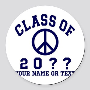 Class of 20?? Round Car Magnet