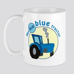 """My big blue tractor"" Mug"