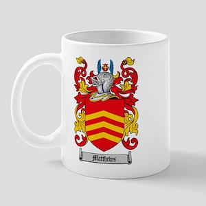 Matthews Family Crest Mug