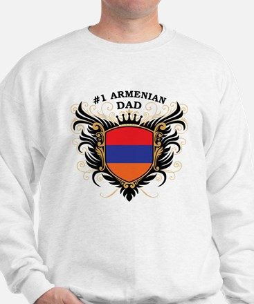 Number One Armenian Dad Sweatshirt