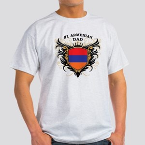 Number One Armenian Dad Light T-Shirt