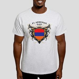 Number One Armenian Dad Light T-Shirt