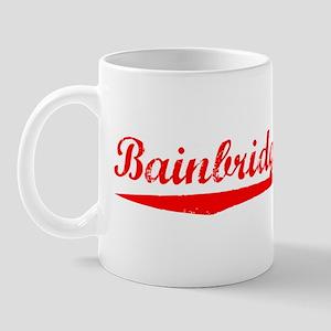 Vintage Bainbridge.. (Red) Mug