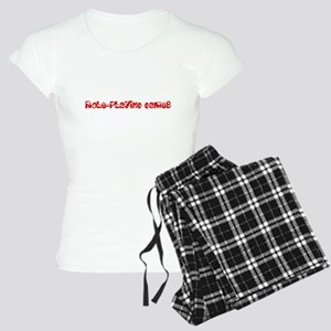 Role-Playing Games Heart Design Pajamas