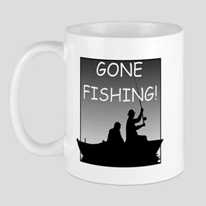 Gone Fishing! Design Mug