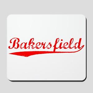 Vintage Bakersfield (Red) Mousepad
