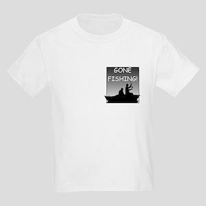 Gone Fishing! Design Kids T-Shirt