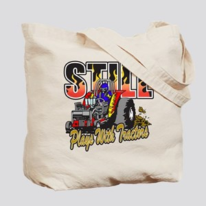 Tractor Pull Still Plays with Tractors Tote Bag