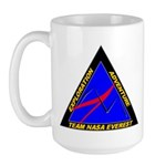 Team NASA Everest Large Mug