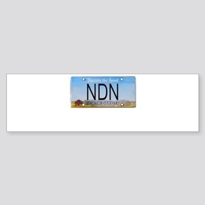 North Dakota NDN Pride Bumper Sticker (10 pk)