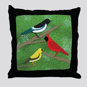 """""""Sunday In The Park With Birds"""" Throw Pi"""