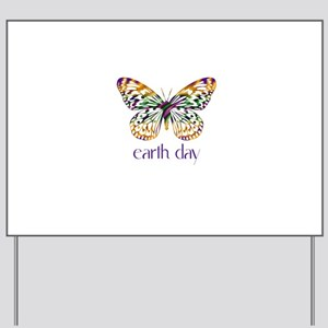 Earth Day - Butterfly Yard Sign
