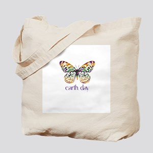 Earth Day - Butterfly Tote Bag