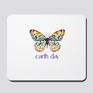 Earth Day - Butterfly Mousepad
