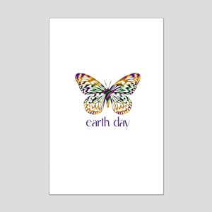 Earth Day - Butterfly Mini Poster Print