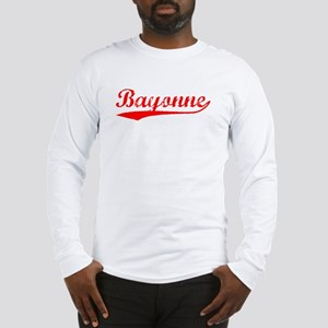Vintage Bayonne (Red) Long Sleeve T-Shirt