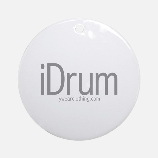 iDrum Ornament (Round)