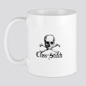 Cross-Stitch - Skull & Crossb Mug