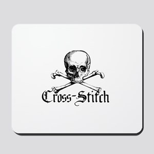 Cross-Stitch - Skull & Crossb Mousepad