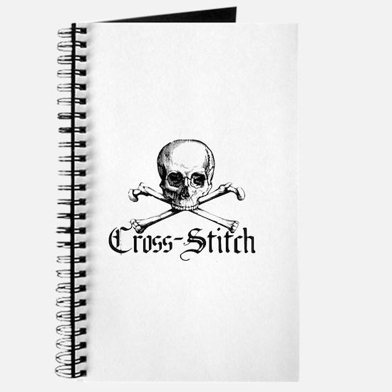 Cross-Stitch - Skull & Crossb Journal