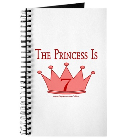 The Princess Is 7 Journal