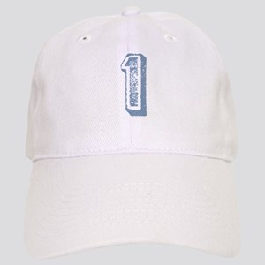Blue Number 1 Birthday Cap