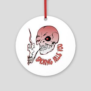 Smoking kills you Ornament (Round)