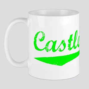 Vintage Castle Rock (Green) Mug