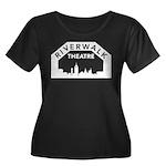 RWT Women's Plus Size Scoop Neck Dark T-Shirt
