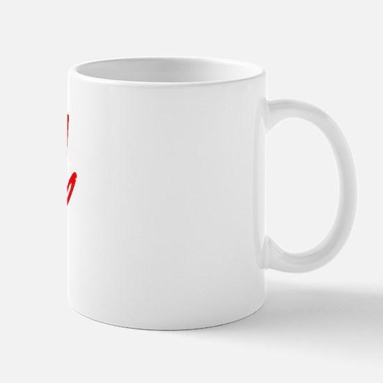 Vintage Bend (Red) Mug