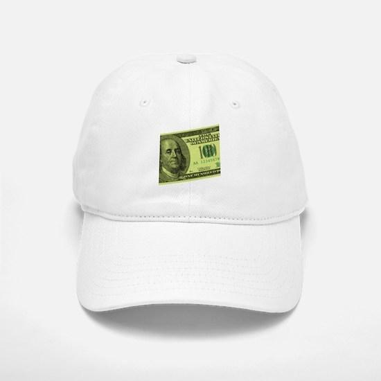 Hundred Dollar Bill Baseball Baseball Cap