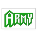 Army Rectangle Sticker