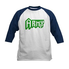 Army Kids Baseball Jersey