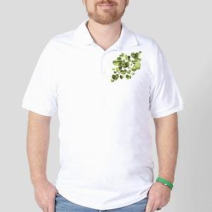 Money Hearts Golf Shirt