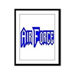 Air Force Framed Panel Print