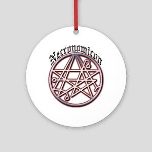Necronomicon Ornament (Round)