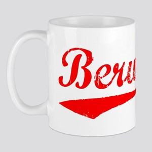 Vintage Berwyn (Red) Mug