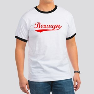 Vintage Berwyn (Red) Ringer T