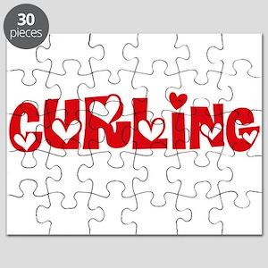 Curling Heart Design Puzzle
