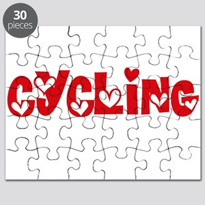 Cycling Heart Design Puzzle