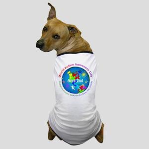 World Autism Awareness Day Dog T-Shirt