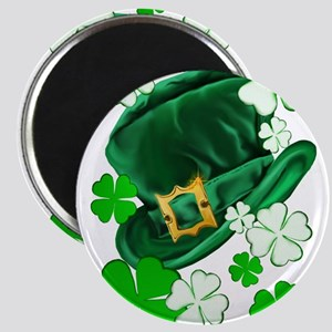 Irish Hat and ShamrocksTrans Magnets