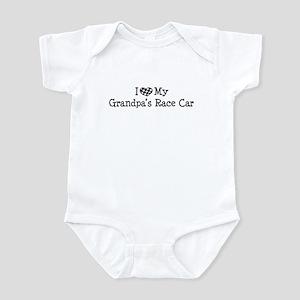 My Grandpas Race Car Infant Bodysuit
