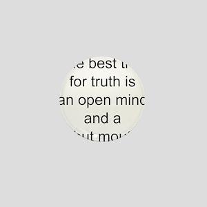 Truth trap Mini Button