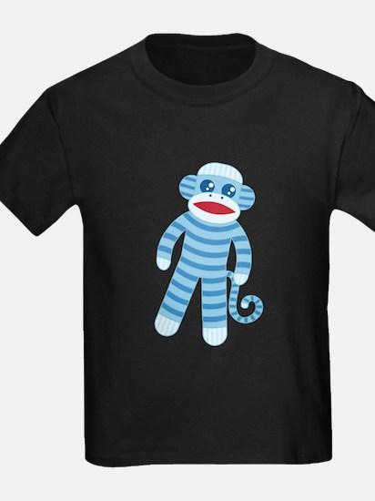 Blue Sock Monkey T
